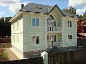 Дом с цокольным этажом и бассейном 380м2. Монолитное строительство загородных частных домов и коттеджей в Подмосковье