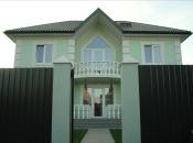 Дом 270м2 с мансардным этажом.. Монолитное строительство загородных частных домов и коттеджей в Подмосковье