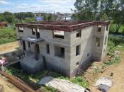 Дуплекс на 2 семьи 505м2 с цокольным этажом. Монолитное строительство загородных частных домов и коттеджей в Подмосковье