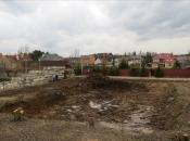 Копка котлована. Монолитное строительство загородных частных домов и коттеджей в Подмосковье