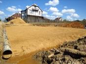 Песчаная подушка под плиту (для стоянки а/м). Монолитное строительство загородных частных домов и коттеджей в Подмосковье