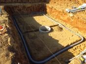 Бассейн, дренаж, песчаная подушка. Монолитное строительство загородных частных домов и коттеджей в Подмосковье