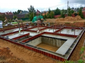 Дом 502м2 с гаражом. Монолитное строительство загородных частных домов и коттеджей в Подмосковье