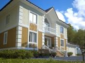 Дом 502м2 с цокольным этажом, бассейном и гаражом. Монолитное строительство загородных частных домов и коттеджей в Подмосковье