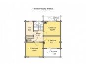 Дом клееный брус д-170
